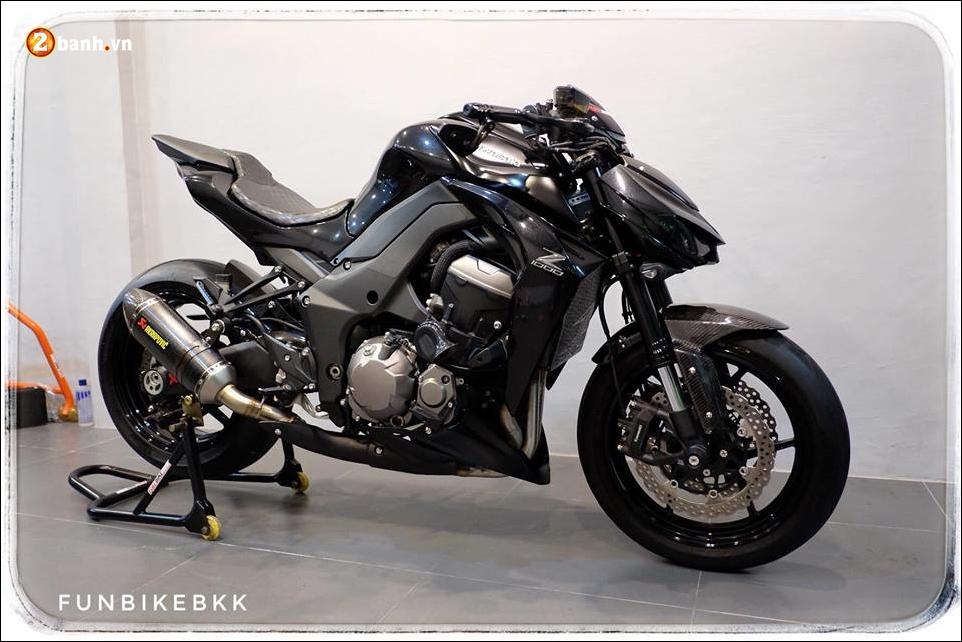 Kawasaki Z1000 do Nakedbike than thanh den khong ty vet - 3