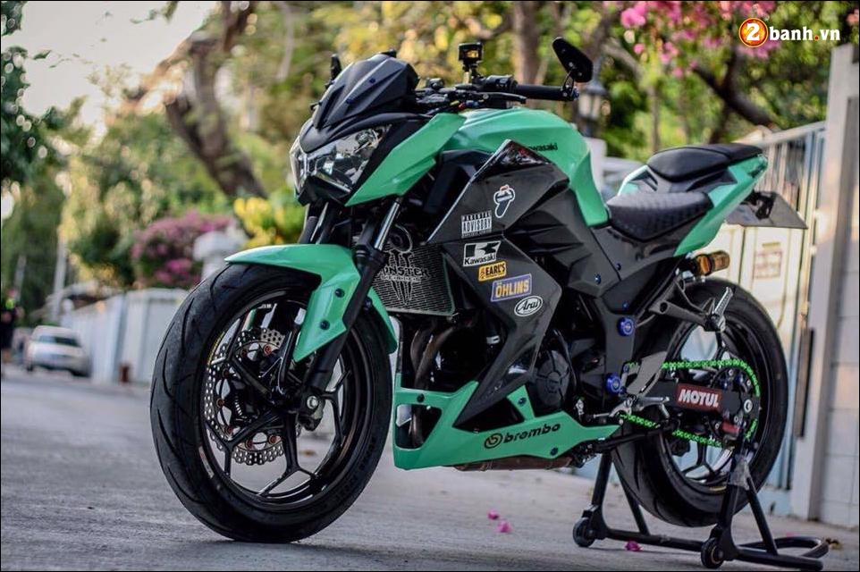 Kawasaki Z300 do mau moi cung loat do choi tinh te - 7