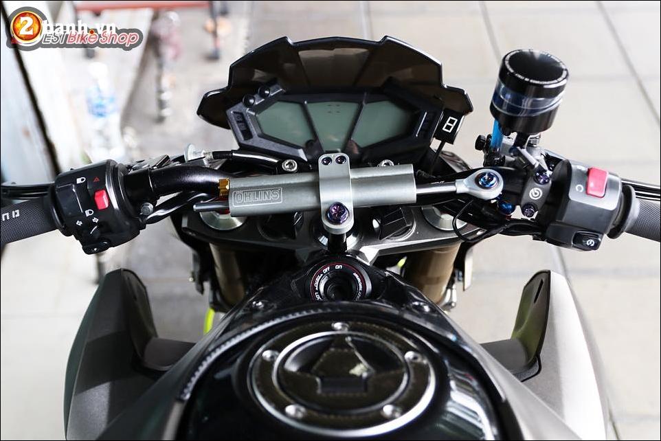 Kawasaki Z800 do nhe cung bo canh Matte Gray cung cap - 4