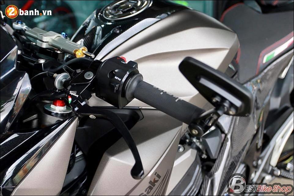 Kawasaki Z800 do nhe cung bo canh Matte Gray cung cap - 6