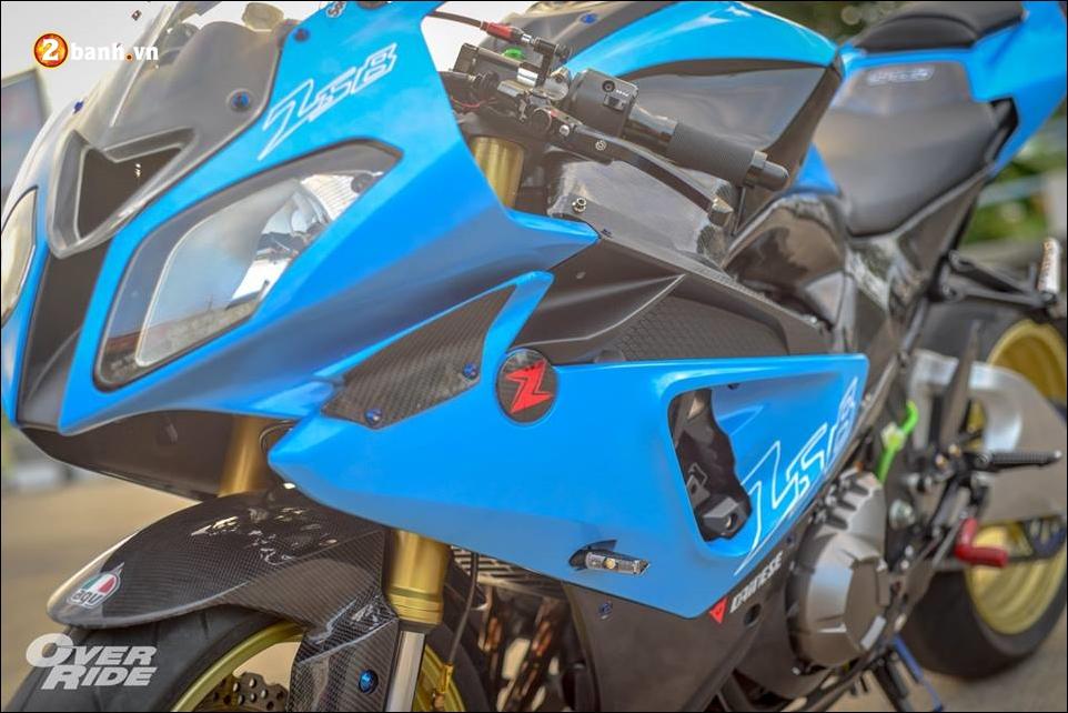 Kawasaki Z800 do tao bao tu y tuong nang cap thanh ca map BMW - 12