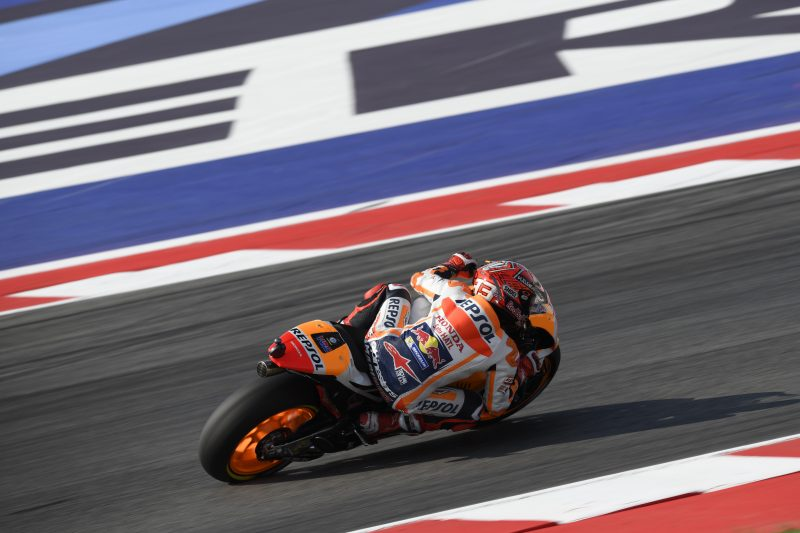 Marc Marquez chien thang day kich tinh trong chang 13 MotoGP 2017 - 2