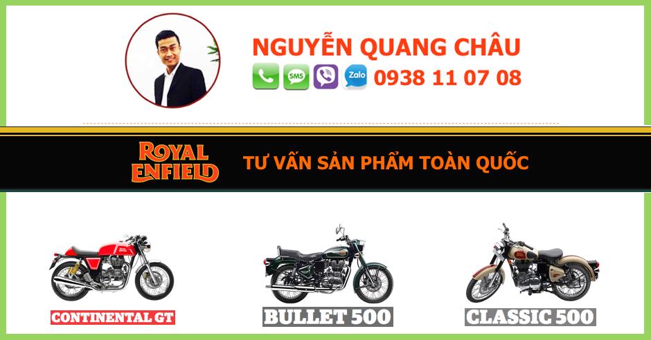 Ban xe ROYAL ENFIELD CLASSIC 500 mau Chrome LH NGUYEN QUANG CHAU 0938 11 07 08 - 2