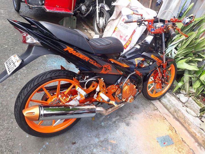 Raider 150 do full do choi cua mot Biker Philippines - 5