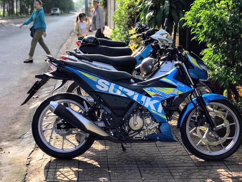 Raider 150 Fi 2017 gia bao nhieu tai thi truong Viet Nam - 2
