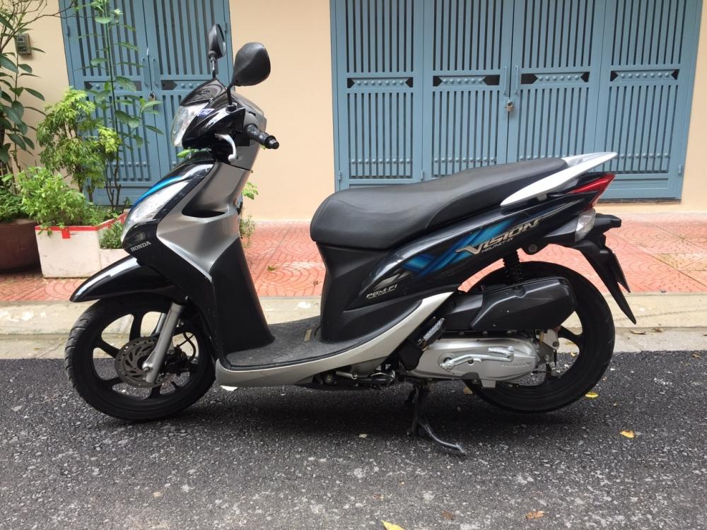 Rao ban Honda Vision fi 2012 Den bac chinh chu dung 21tr - 2