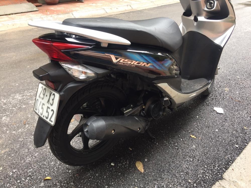 Rao ban Honda Vision fi 2012 Den bac chinh chu dung 21tr - 3