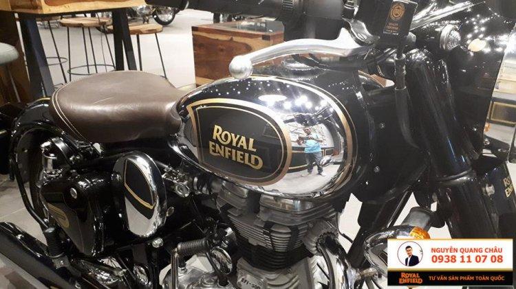Royal Enfield Classic 500 Mau CHROME DEN LH NGUYEN QUANG CHAU 0938110708 - 7