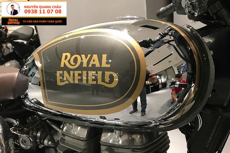 ROYAL ENFIELD CLASSIC 500 mau CHROME PHIATE SANG LH NGUYEN QUANG CHAU - 9