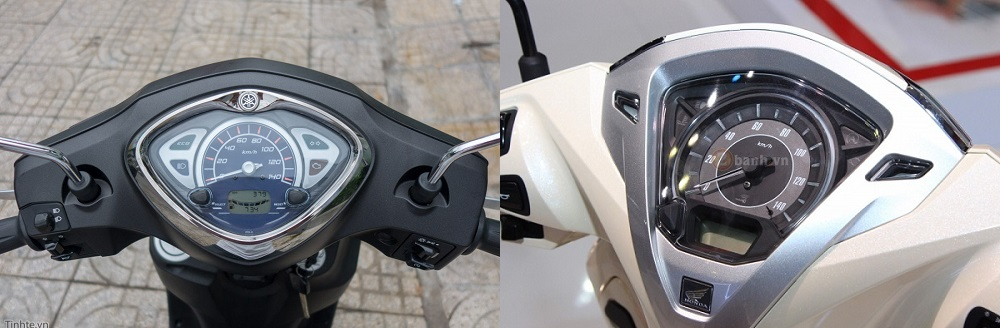 So sanh Yamaha Acruzo 2017 voi Honda Lead 2017 nen chon mau xe nao - 6
