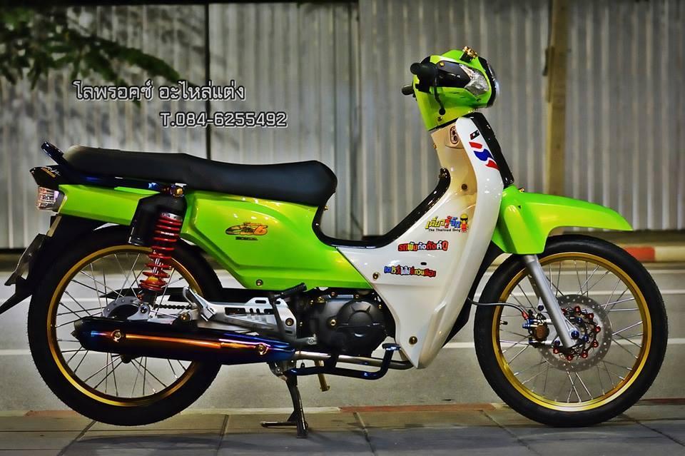 Super Cub do day an tuong cua dan choi Thai Lan - 2