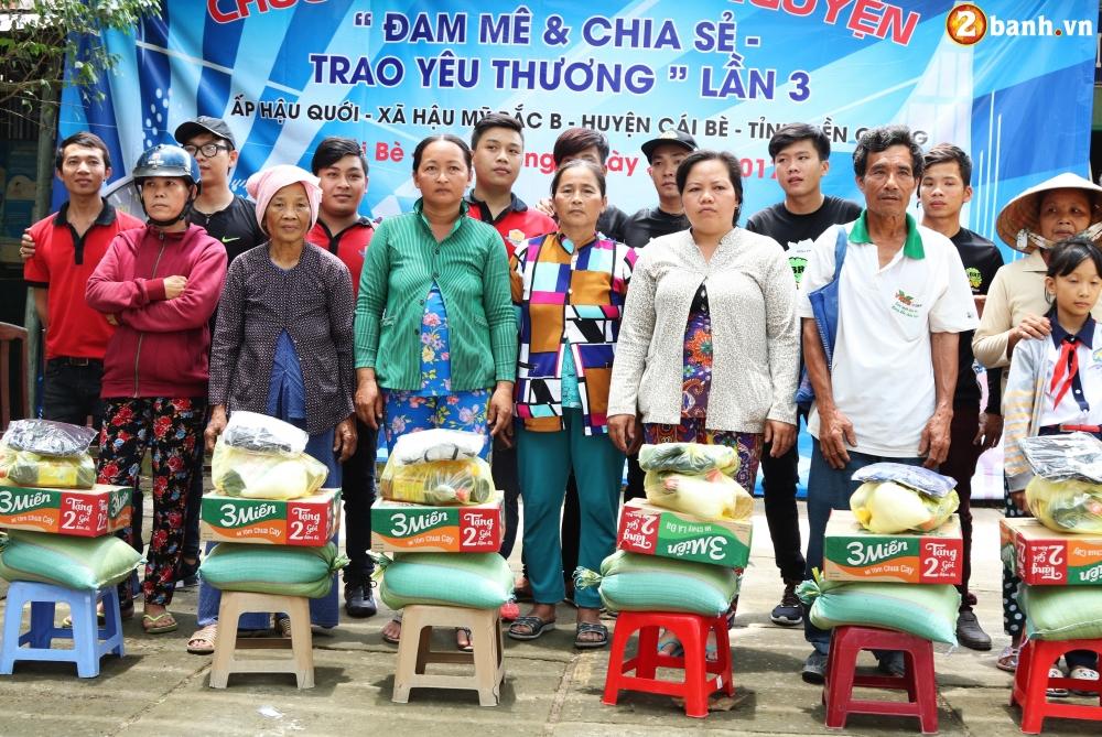 Team Exciter Volunteer HCM Dam me chia se trao yeu thuong lan III - 28