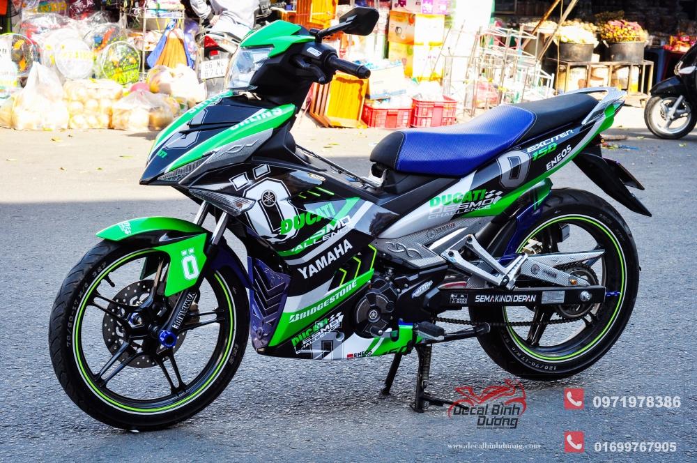 Tem Xe Exciter 150 Tong Hop Nhung Bo Tem Exciter 150 Moi Dep Nhat 2017