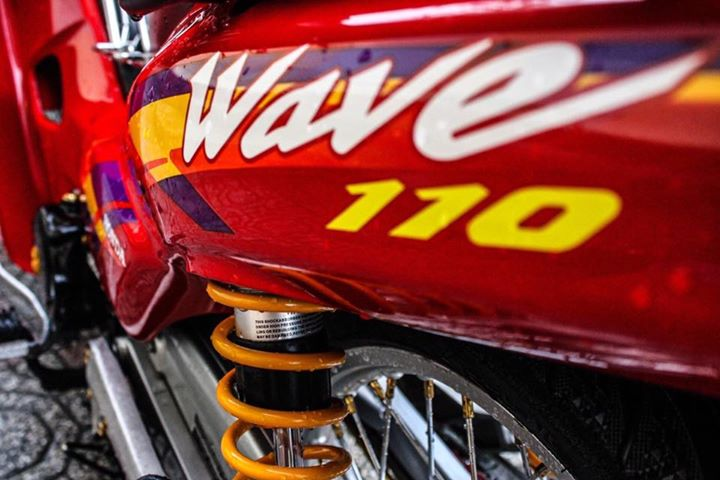 Wave 110 do cuc ngau voi phong cach sieu nhan do dep trai - 7