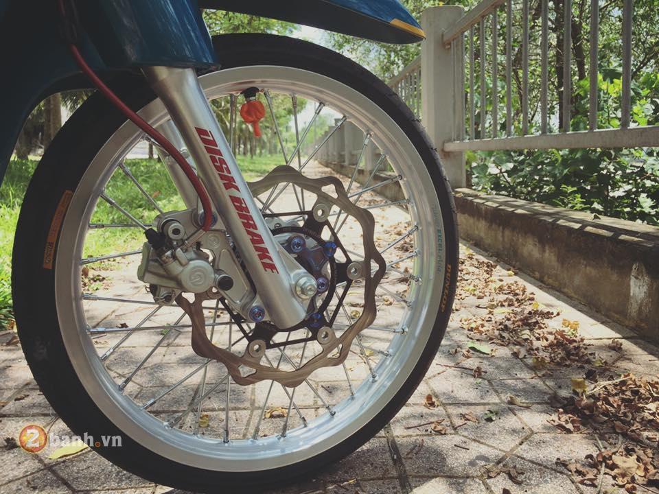 Wave 110 do dam chat thuong gia cua mot hoang gia thuoc biker mien Tay