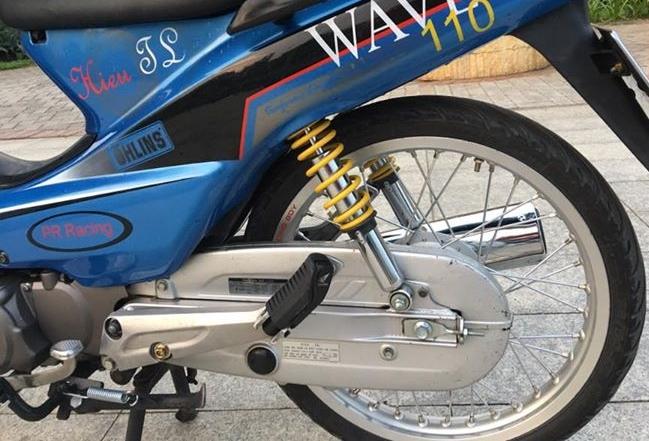 Wave Alpha do nhe cuc dinh cua biker Sai Gon