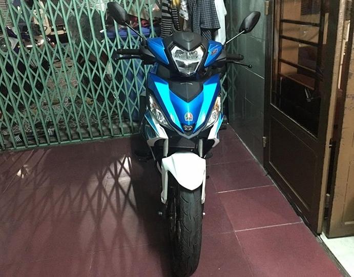 Winner 150 do an tuong voi dan chan KHUNG cua biker Viet