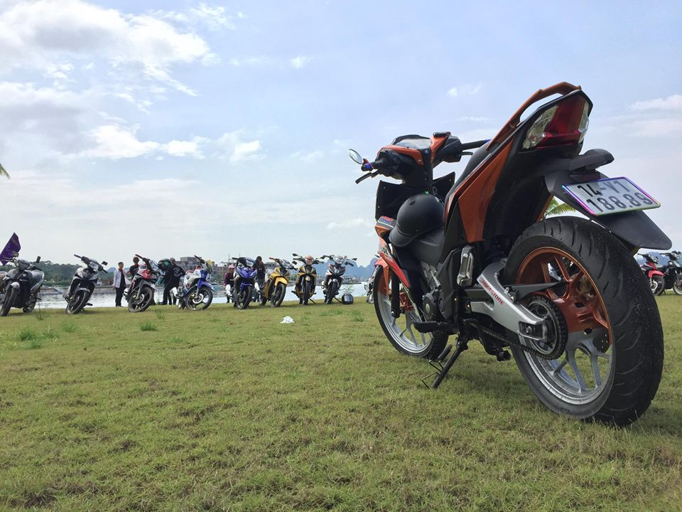 Winner 150 do gap TFX day ham ho cua biker Quang Ninh - 10