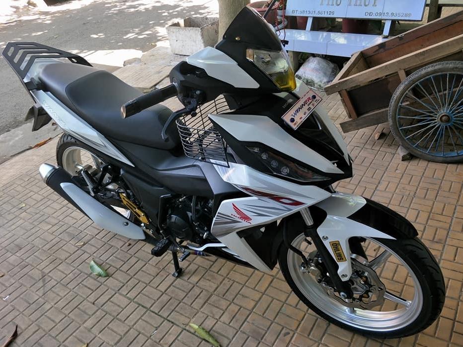 Winner 150 do kieng day cung cap cua biker An Giang - 3