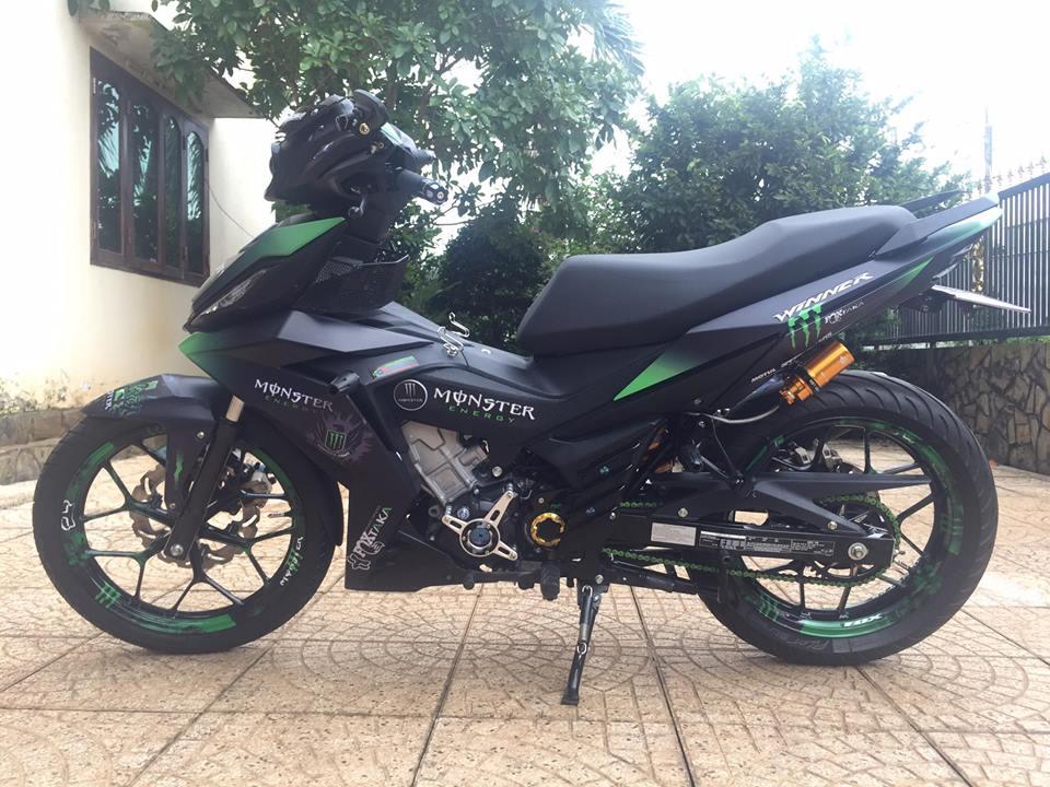 Winner 150 do kieng sieu ngau cua biker Long Khanh - 5