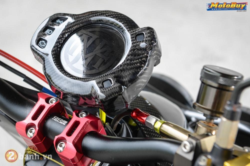 Yamaha BWS phong cach VR46 voi goi nang cap cuc doc cua biker Dai Loan - 5