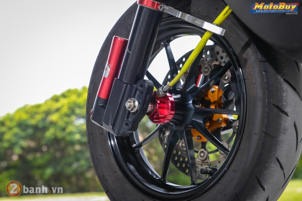 Yamaha BWS phong cach VR46 voi goi nang cap cuc doc cua biker Dai Loan - 7