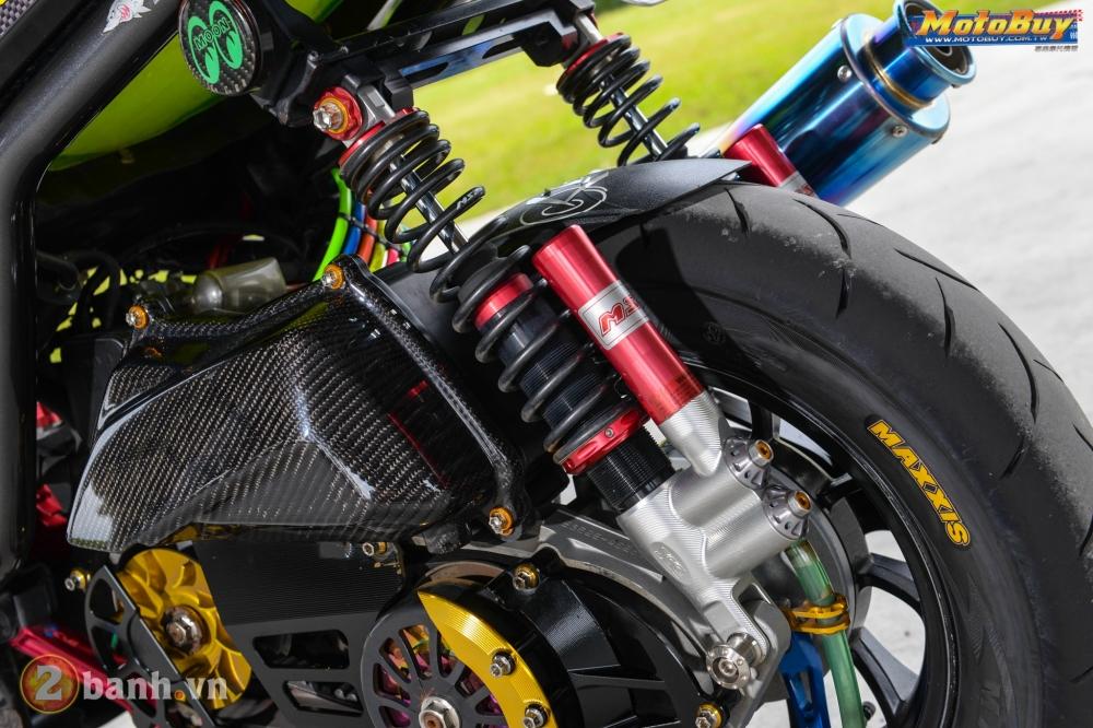 Yamaha BWS phong cach VR46 voi goi nang cap cuc doc cua biker Dai Loan - 10
