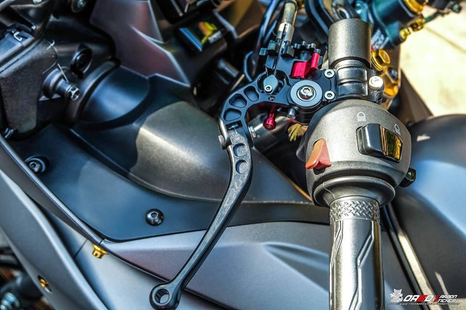 Yamaha R15 do kieng nhe khoe dang cua biker nuoc ban - 7