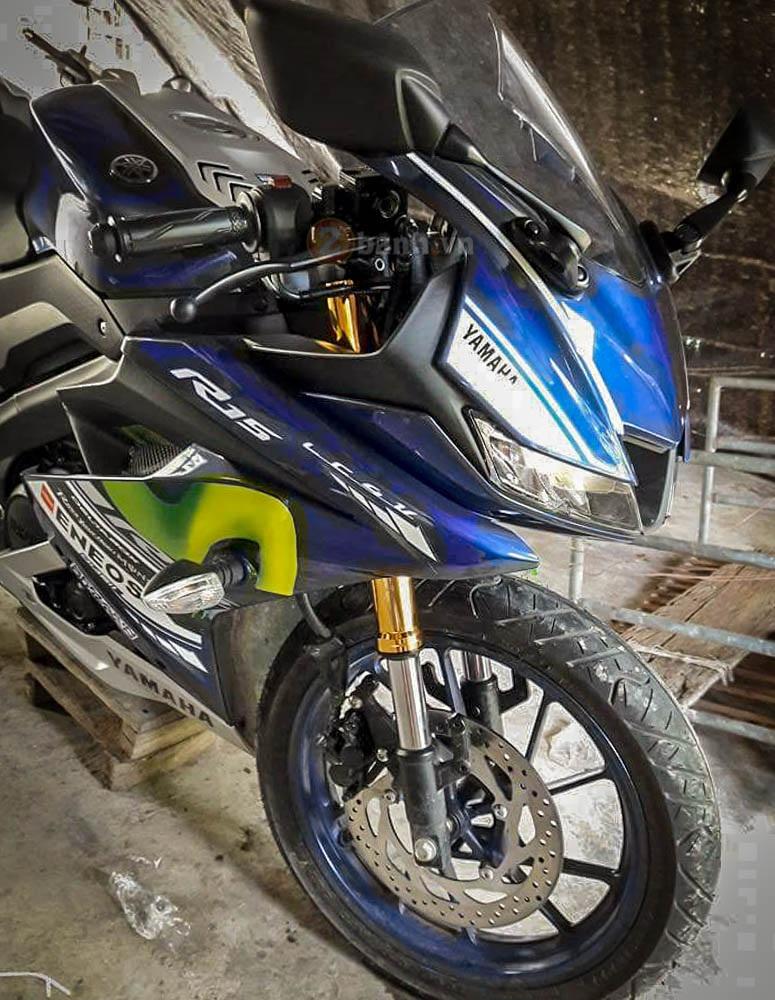 Yamaha R15 do phuoc USD cua Showa bien thanh Ohlins voi chi phi cuc re - 4