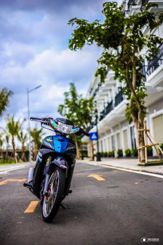 Yamaha Sirius do kieng day phong do cua biker Kien Giang - 5