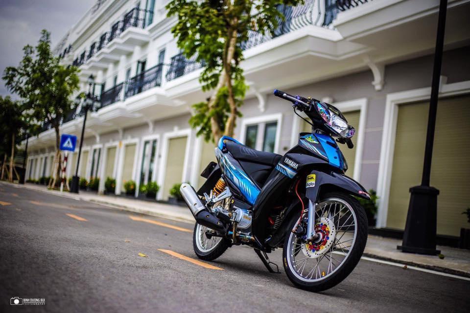Yamaha Sirius do kieng day phong do cua biker Kien Giang - 9