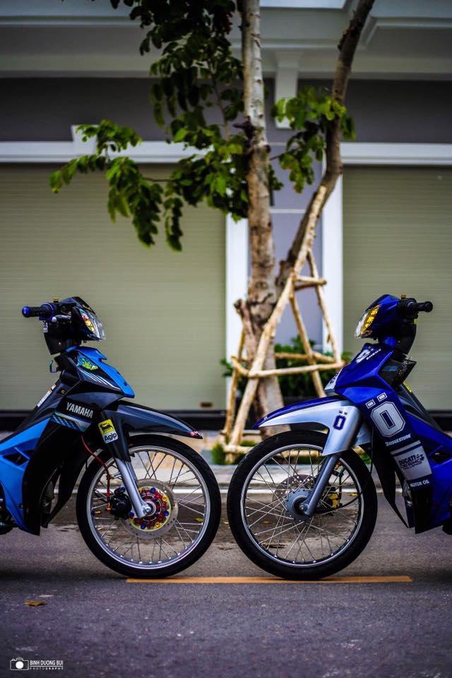 Yamaha Sirius do kieng day phong do cua biker Kien Giang - 11