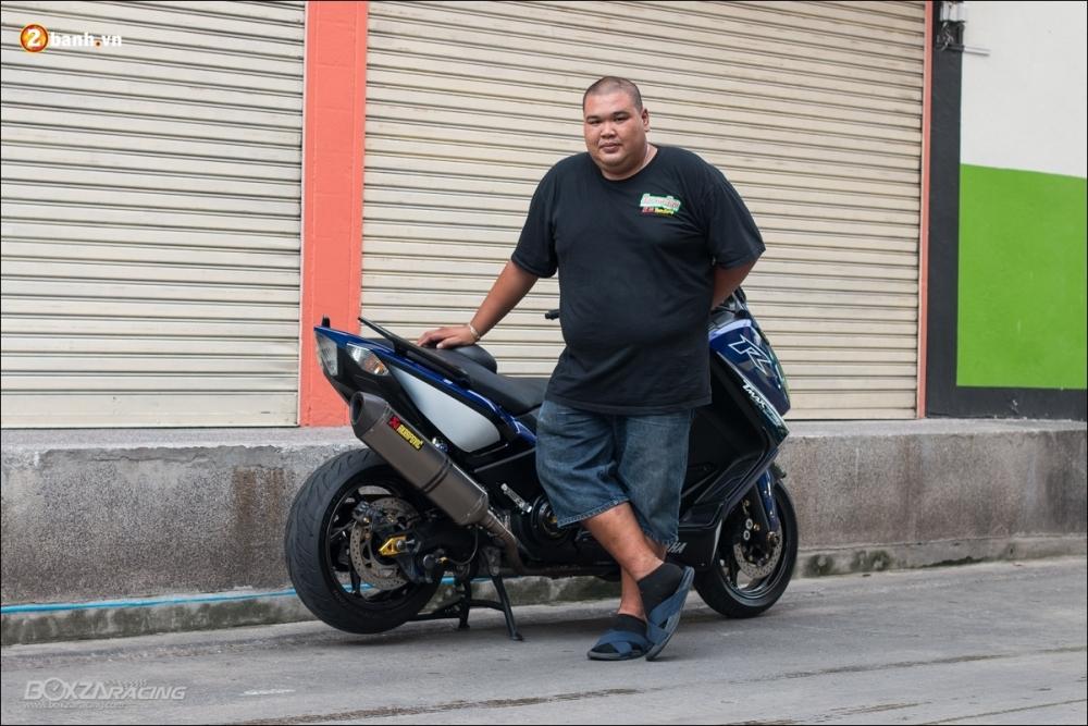 Yamaha Tmax 530 do chan dung dan anh phan khuc Big scooter - 13