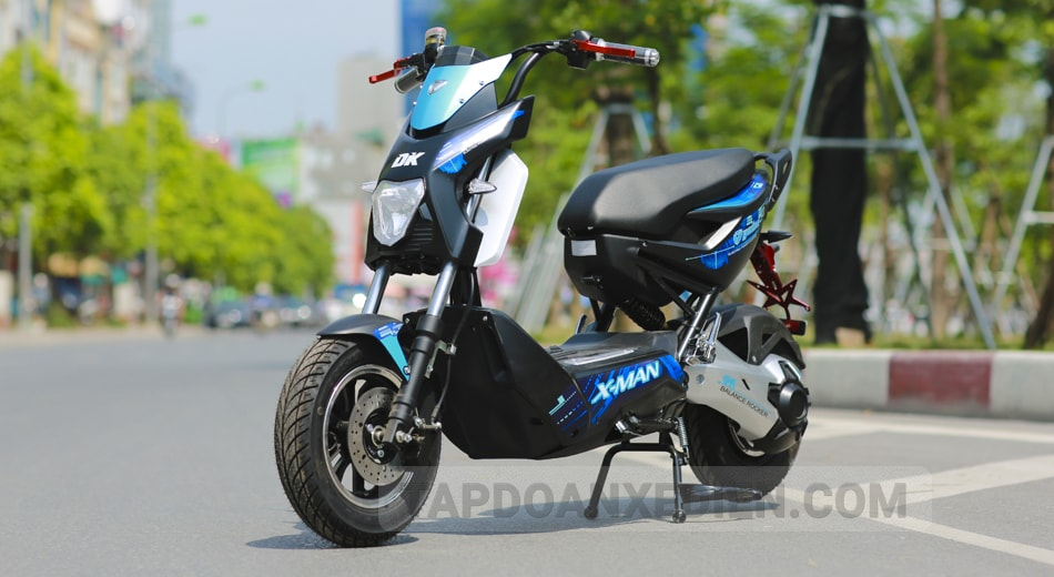 Xe may dien Xman Yadea 5 2018 duoc nang cap toan dien - 4