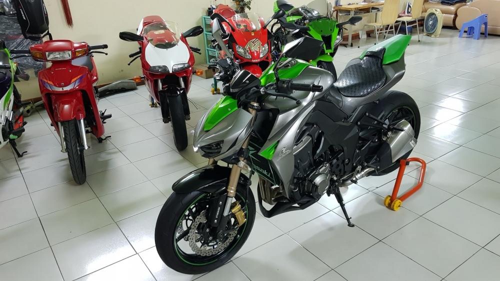 Ban Kawasaki Z1000ABSHQCNSaigon52014odo 12KLong lanh zin toan tap - 4