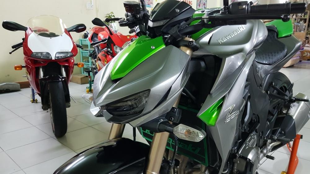 Ban Kawasaki Z1000ABSHQCNSaigon52014odo 12KLong lanh zin toan tap - 5