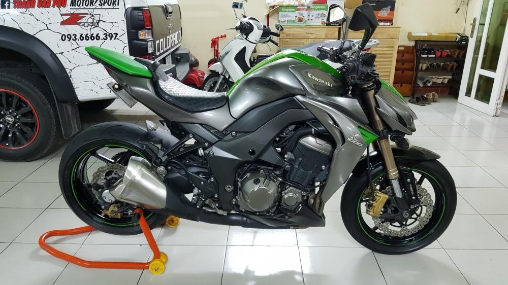 Ban Kawasaki Z1000ABSHQCNSaigon52014odo 12KLong lanh zin toan tap - 8
