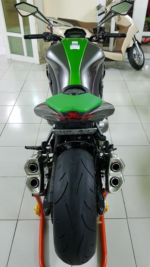 Ban Kawasaki Z1000ABSHQCNSaigon52014odo 12KLong lanh zin toan tap - 11