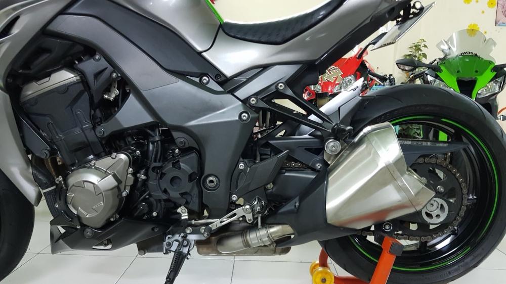 Ban Kawasaki Z1000ABSHQCNSaigon52014odo 12KLong lanh zin toan tap - 15