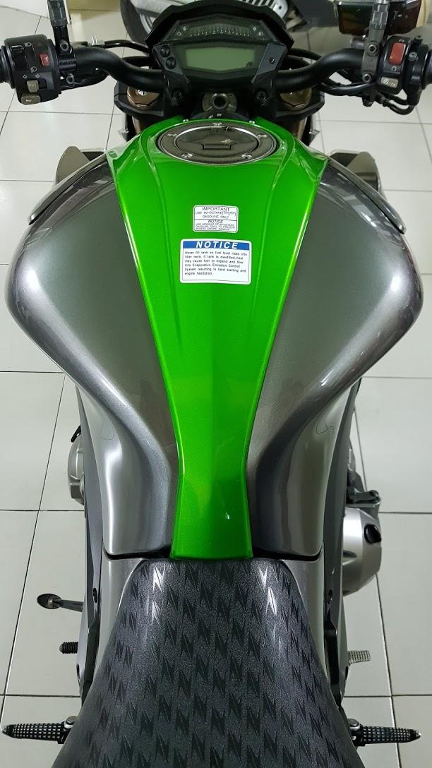 Ban Kawasaki Z1000ABSHQCNSaigon52014odo 12KLong lanh zin toan tap - 13
