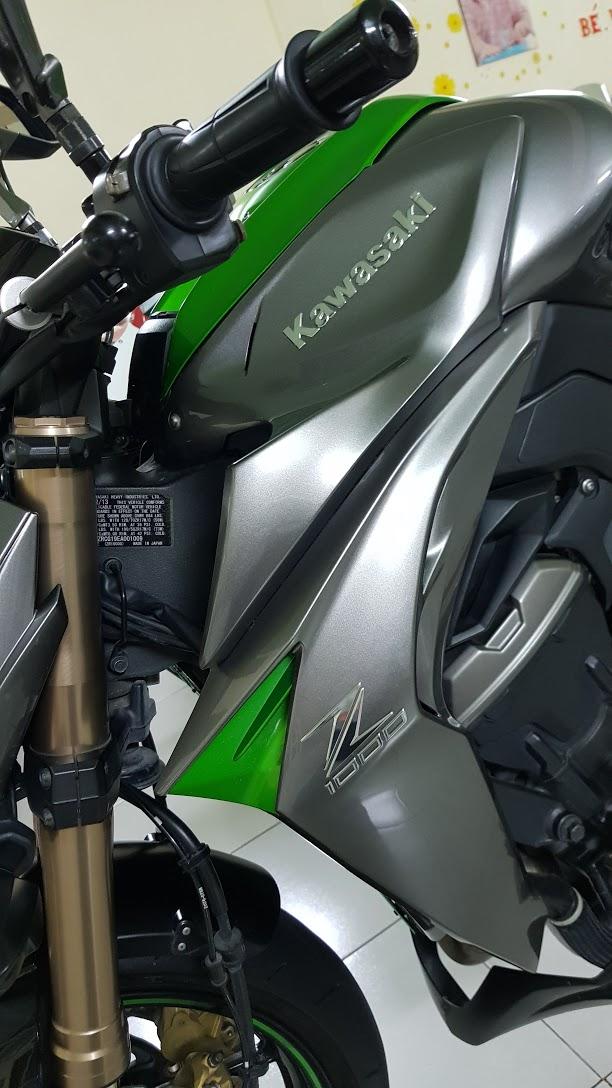 Ban Kawasaki Z1000ABSHQCNSaigon52014odo 12KLong lanh zin toan tap - 22