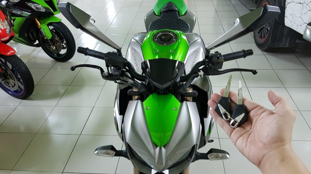 Ban Kawasaki Z1000ABSHQCNSaigon52014odo 12KLong lanh zin toan tap - 27