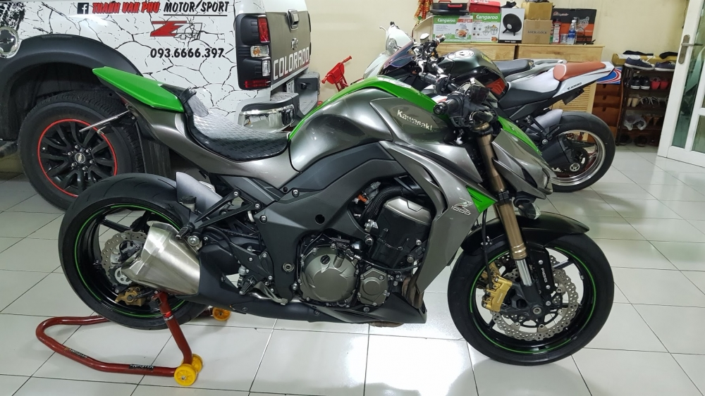 Ban Kawasaki Z1000 ABS xe HQCN bien so Saigon so dep 8 nut thang 62014 - 8