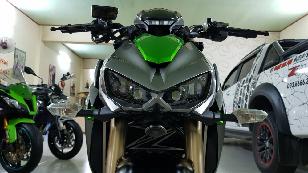 Ban Kawasaki Z1000 ABS xe HQCN bien so Saigon so dep 8 nut thang 62014 - 9