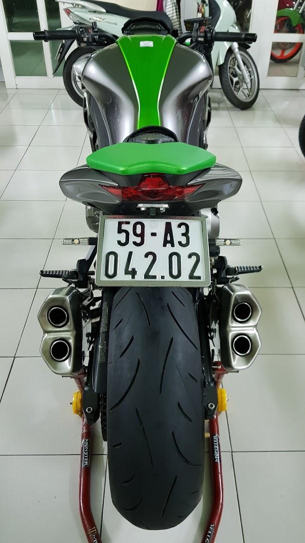 Ban Kawasaki Z1000 ABS xe HQCN bien so Saigon so dep 8 nut thang 62014 - 11
