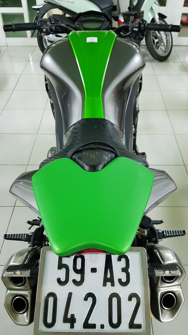 Ban Kawasaki Z1000 ABS xe HQCN bien so Saigon so dep 8 nut thang 62014 - 13