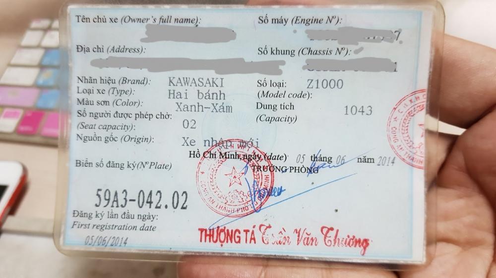 Ban Kawasaki Z1000 ABS xe HQCN bien so Saigon so dep 8 nut thang 62014 - 22