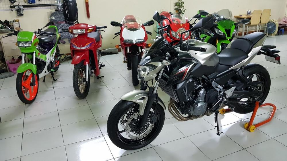 Ban Kawasaki Z65052017ABSHQCNSaigon so depodo 1k8Chinh hang con bao hanh - 4
