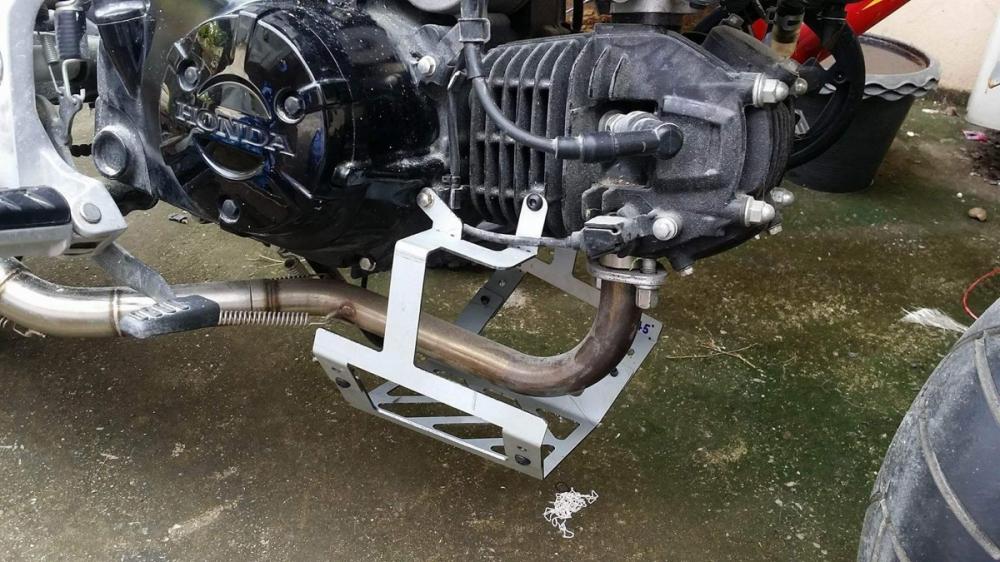 BMW S1000RR Ban do tu chiec Honda MSX 125cc kha doc dao - 6