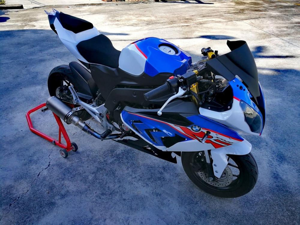 BMW S1000RR Ban do tu chiec Honda MSX 125cc kha doc dao - 7